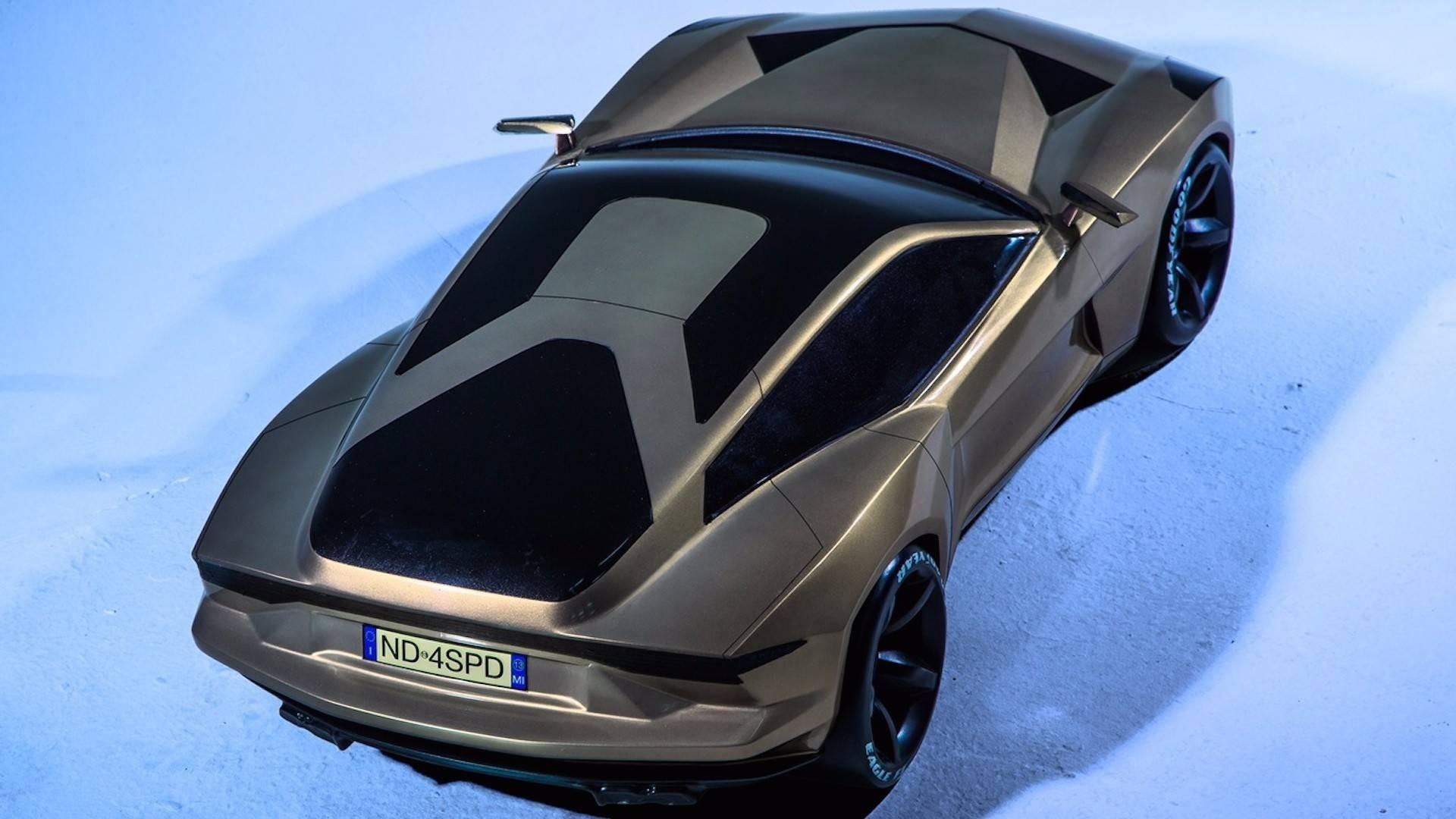 Концептуальный автомобиль Lamborghini Shooting Brake наврядли будет реальностью