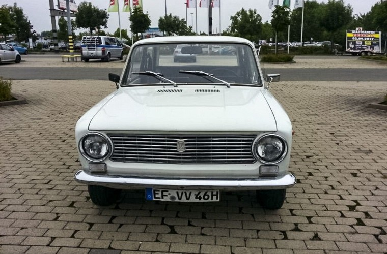 Капсула времени: в Германии нашли ВАЗ «Копейку» 1976 года почти без пробега