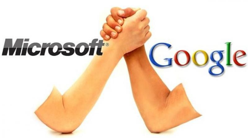 Microsoft ответил наатаку Google, показав его слабые стороны