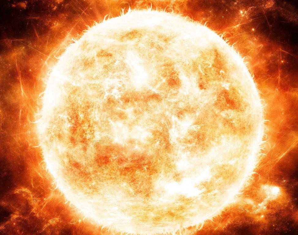 Ученые зафиксировали наСолнце огромную дыру ввиде греческой буквы «Пи»