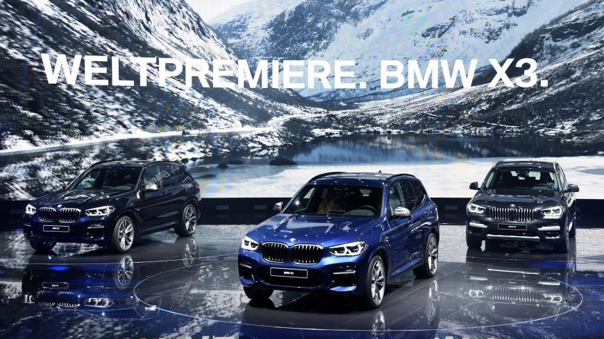 В РФ новый хэтчбек БМВ X3 представят ссамого начала ноября