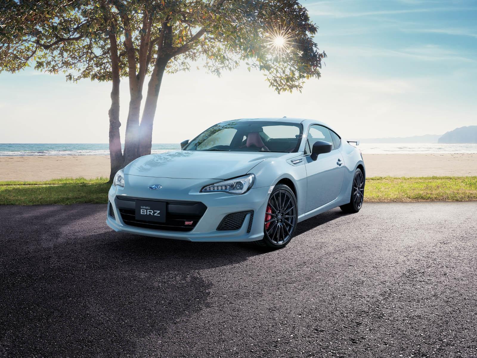 ВТокио представили новый седан Субару BRZ STI Sport