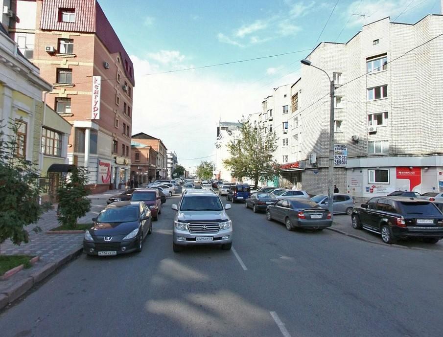 Улица Каратанова будет односторонней
