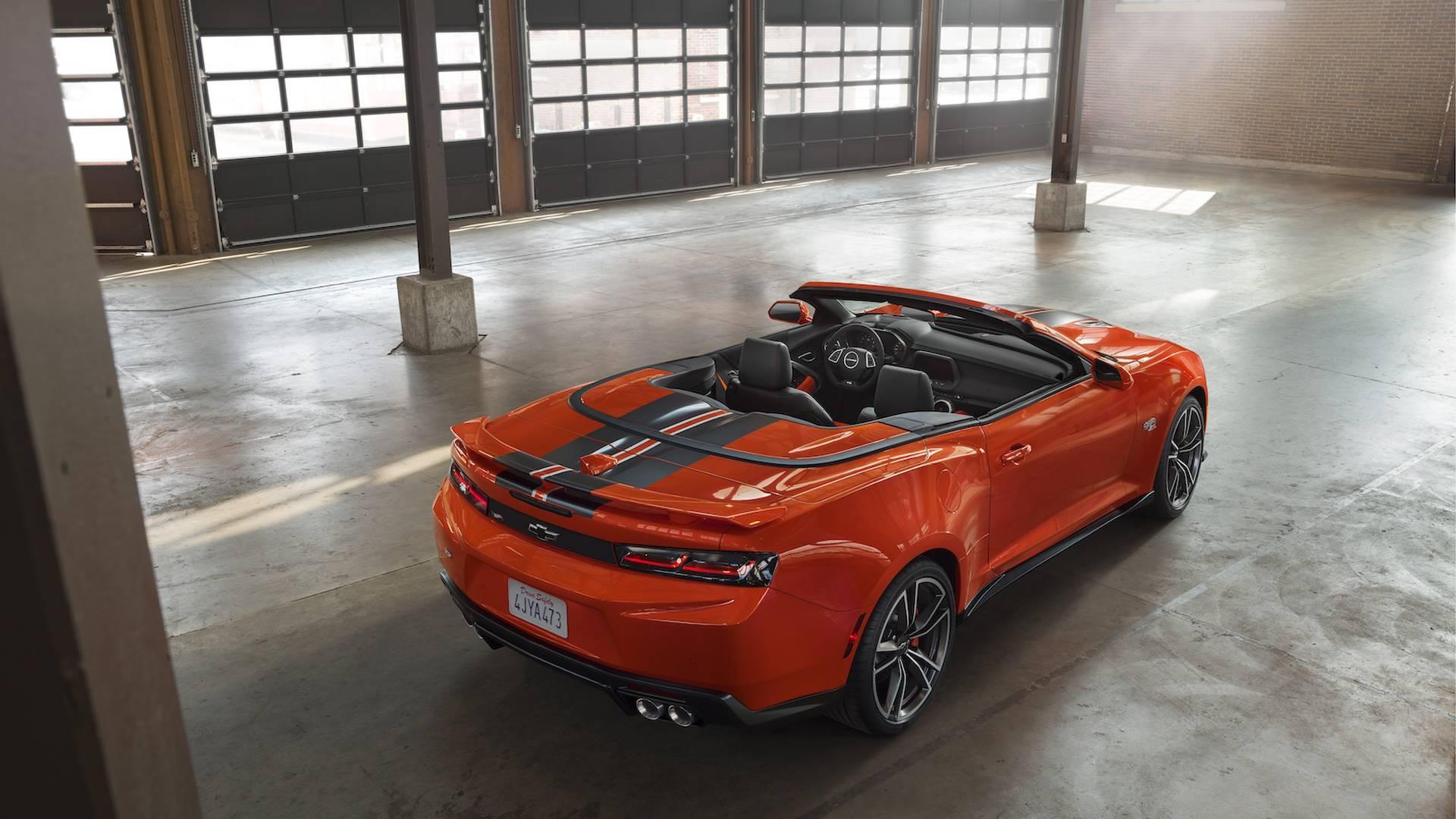 Шевроле выпустил игрушечную модификацию Шевроле Camaro Hot Wheels Edition