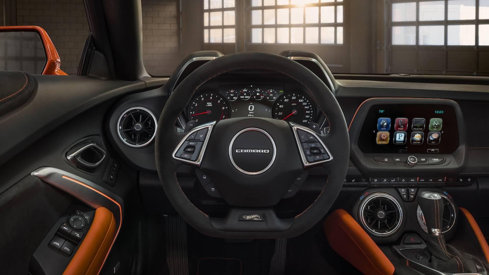 Шевроле Camaro выйдет в новейшей версии SEMA