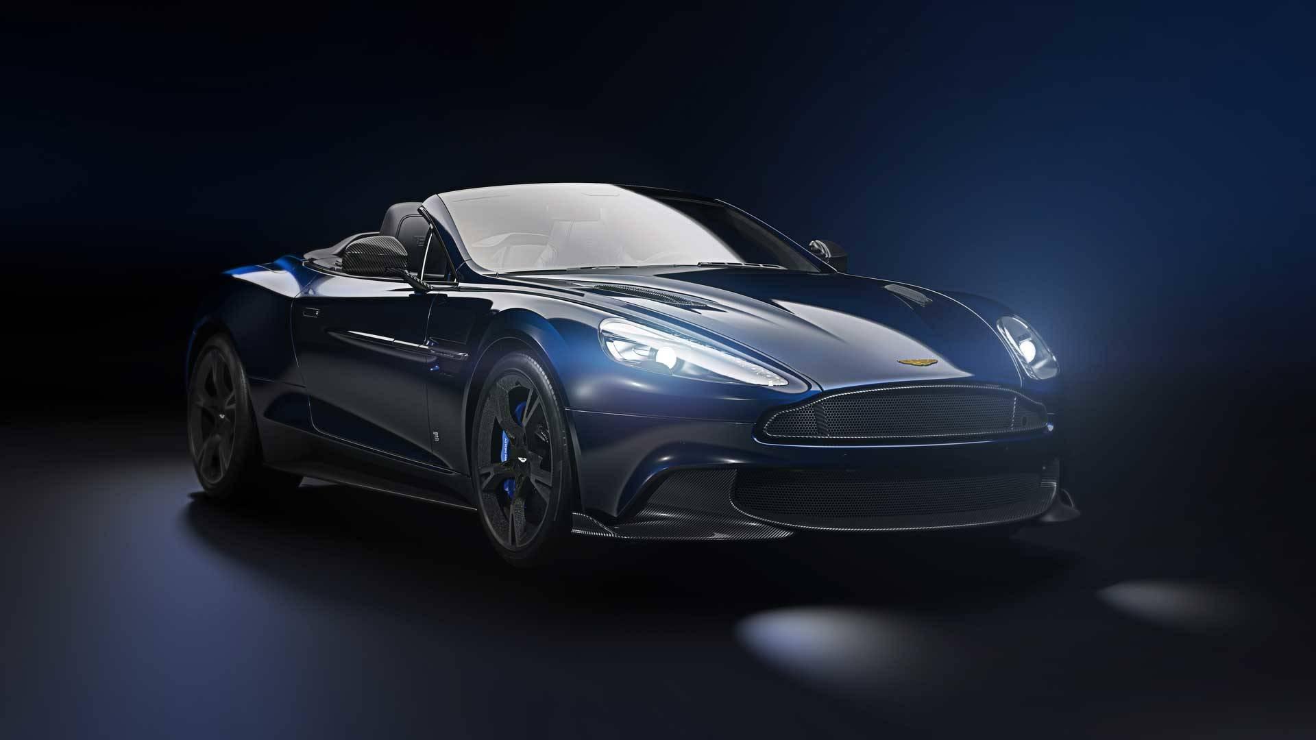 Aston Martin выпустит универсал Vanquish Zagato ограниченной серией