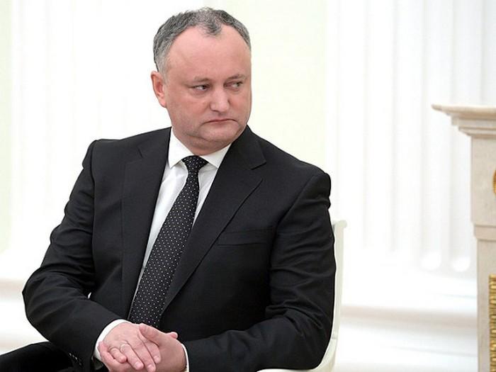 Додон объявил, что парламентское большинство неготово идти наего импичмент