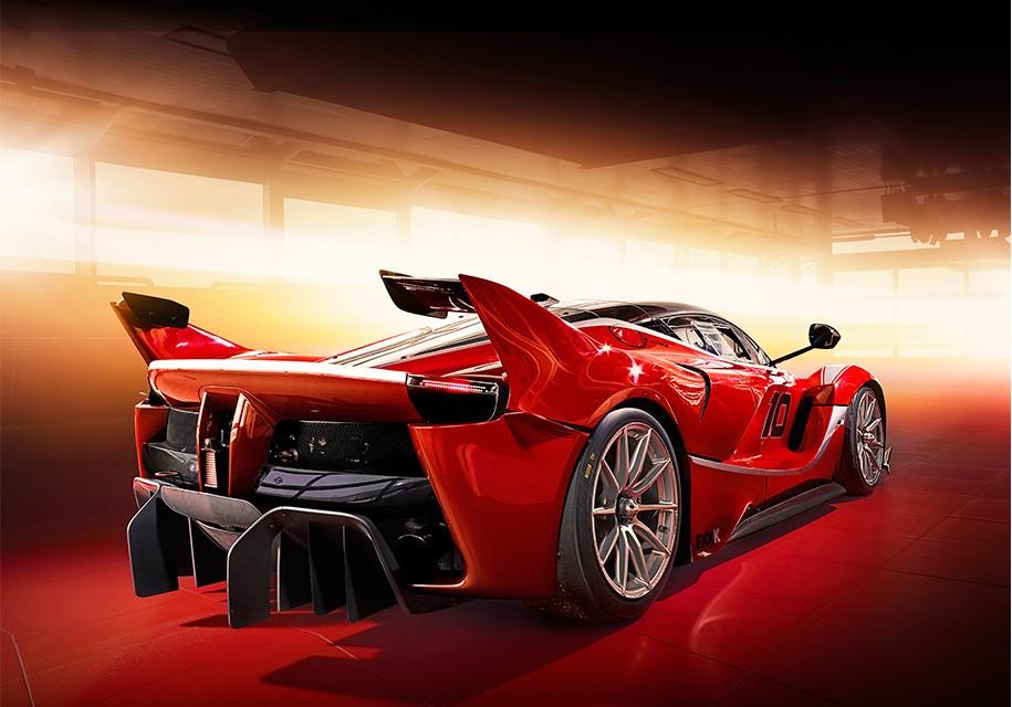 Феррари представила трековый суперкар FXX-K Evo