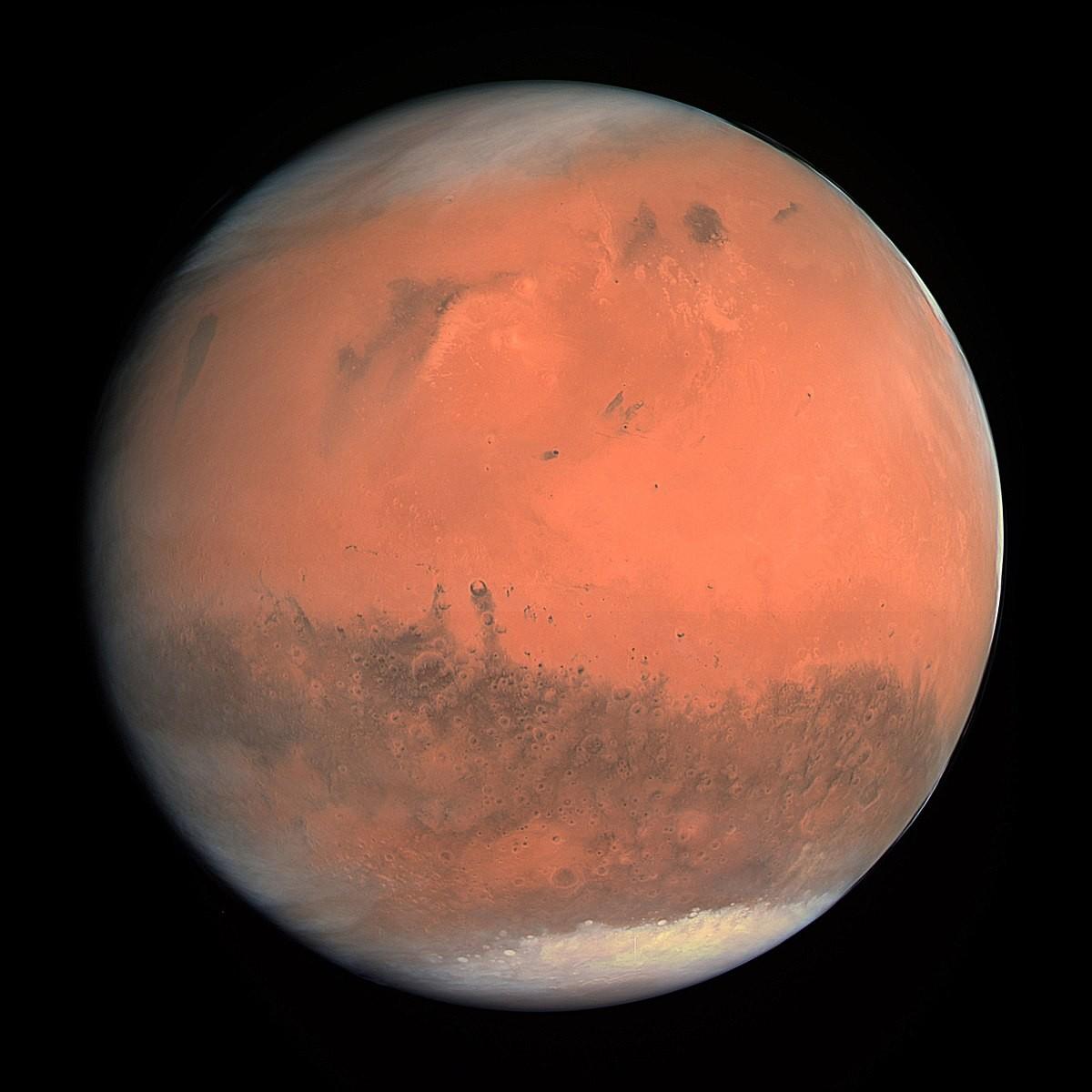 Учёные сомневаются вналичии воды в«оврагах» Марса