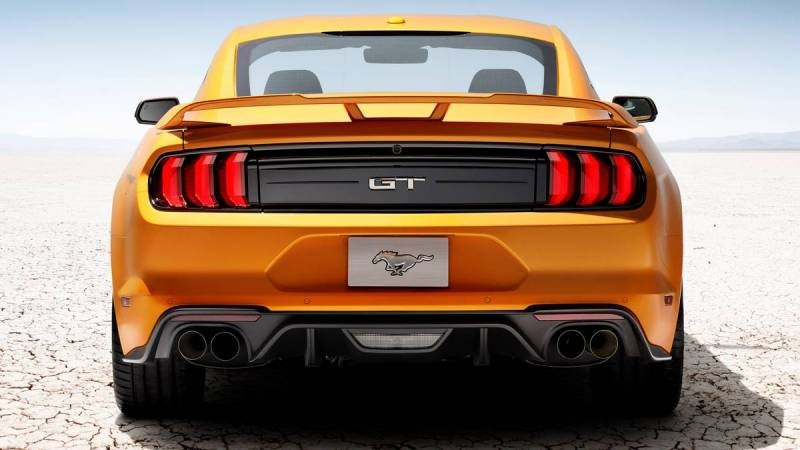 RTR представила свою версию Форд Mustang 2018
