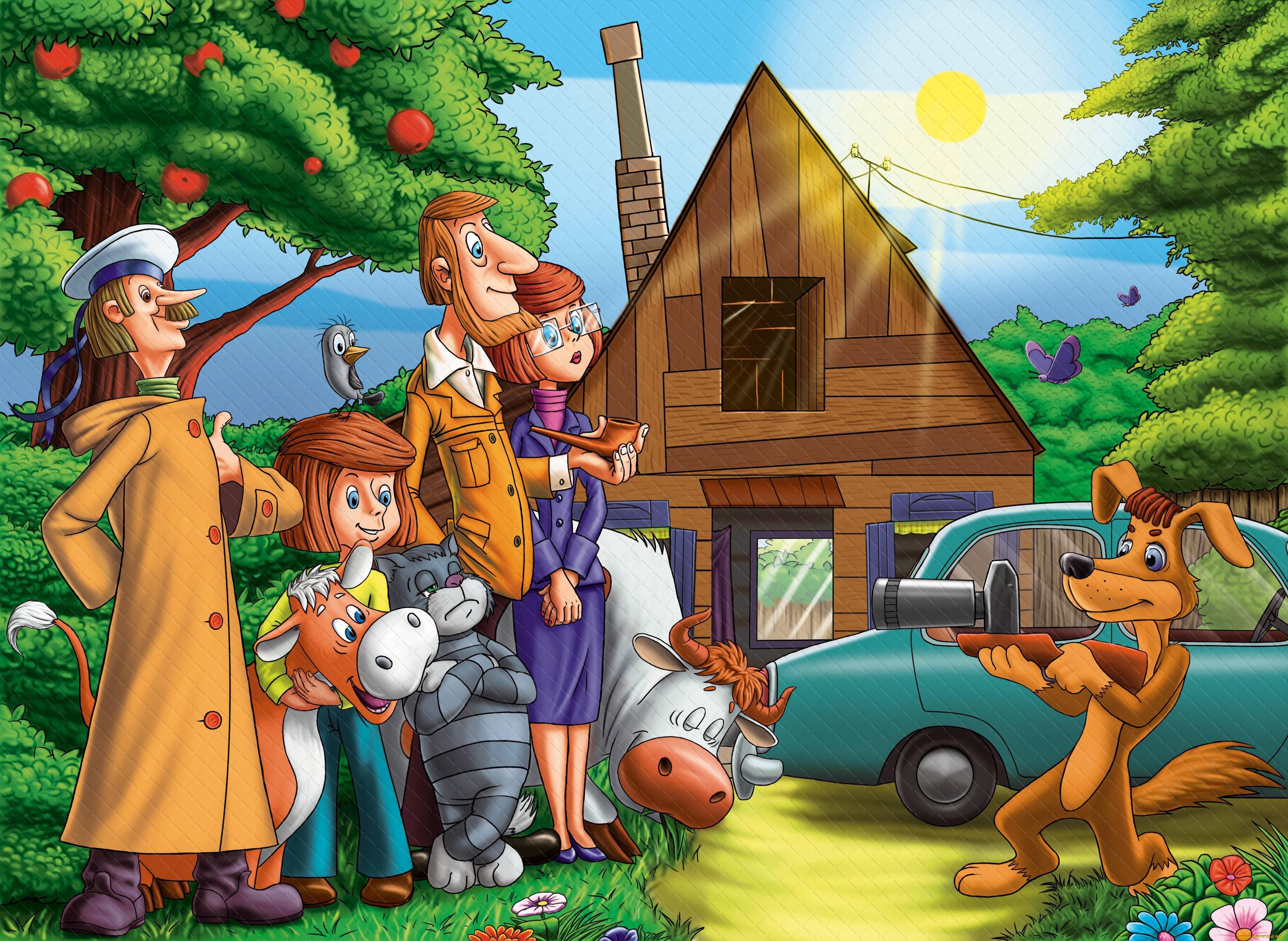 Новая серия мультфильма «Простоквашино» выйдет всамом начале последующего года