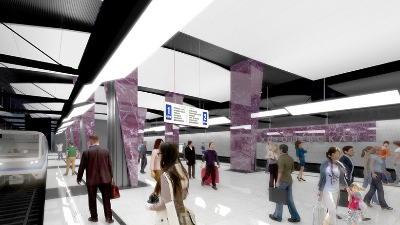 Кабинет ипаркинг появятся около будущей станции метро Хорошевская