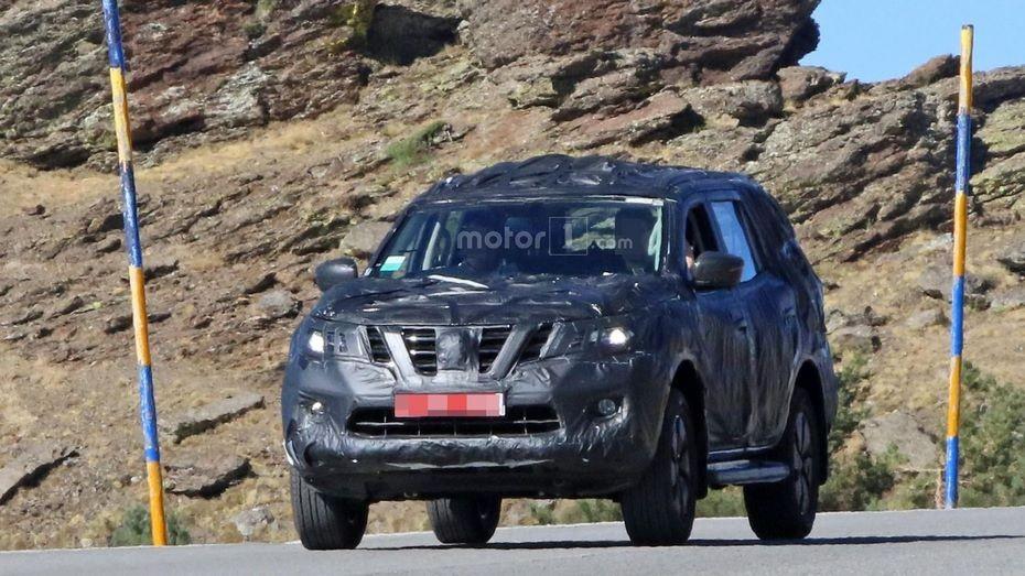 Новый внедорожник Nissan Paladin на базе Navara представят в ноябре