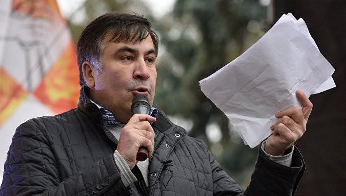 Саакашвили выдвинул свою версию слова Авакова о«хламе около Рады»