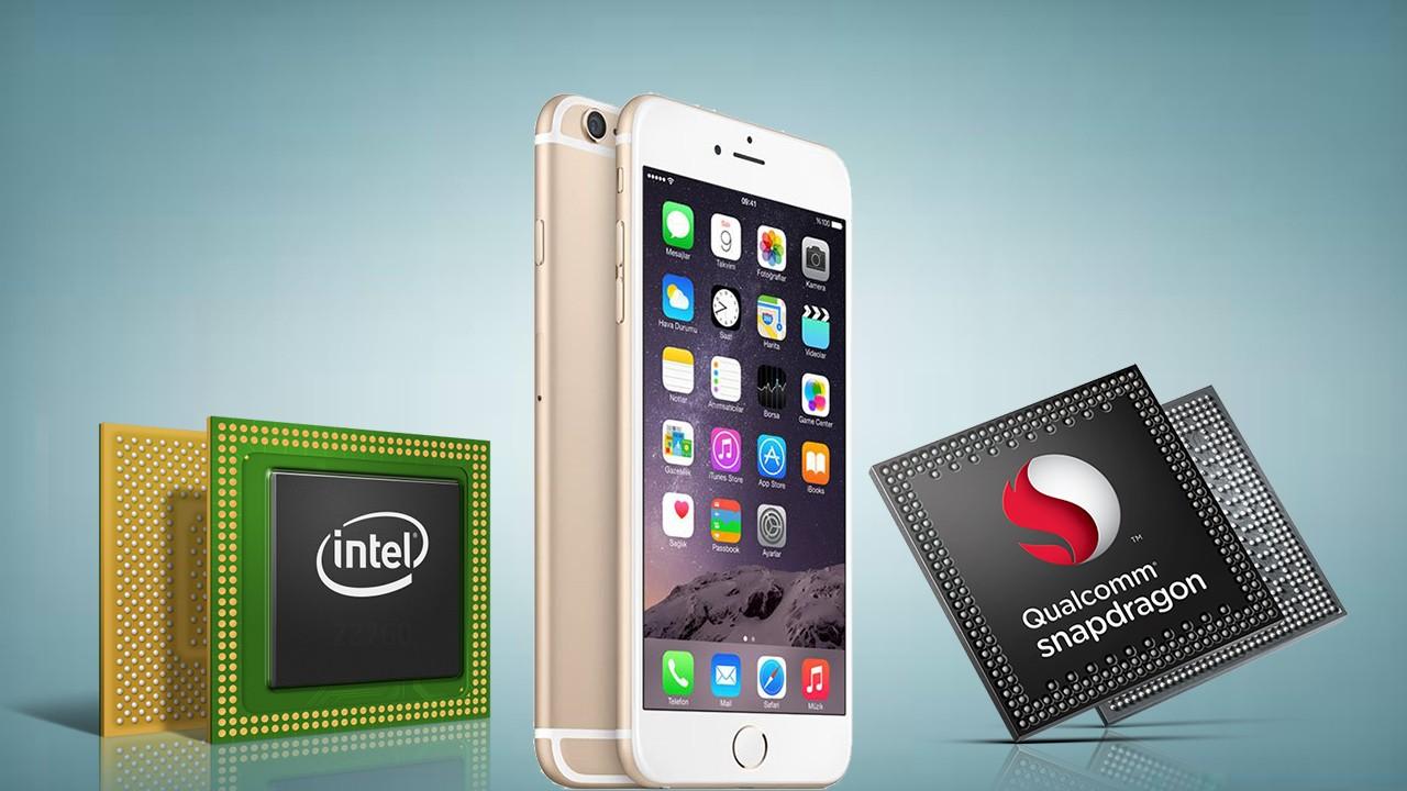 Apple собирается на100%  отказаться отчипов Qualcomm