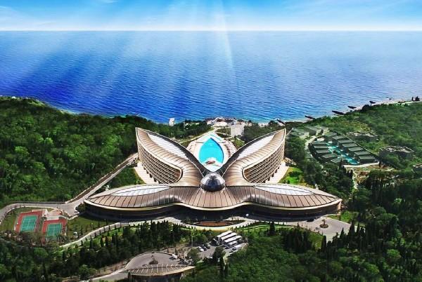 В третий раз лучшим в Европе признан отель в Ялте