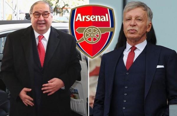 Усманову предлагают £525 миллионов за его долю в «Арсенале»