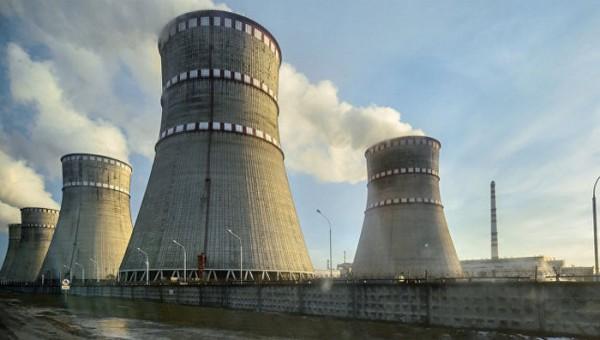 На Ровенской АЭС в Украине остановили третий энергоблок