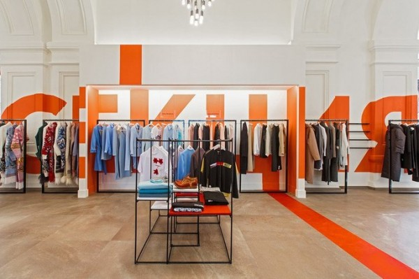 В ГУМе состоялось открытие первого магазина одежды российских дизайнеров