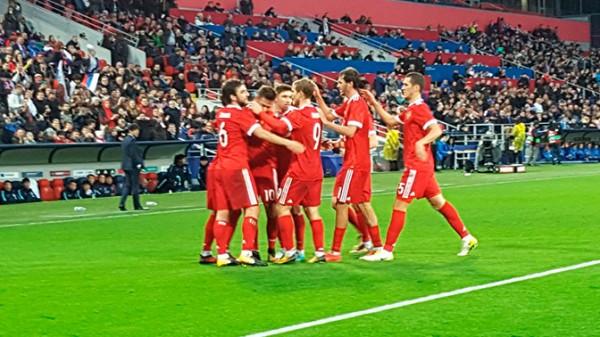 Россияне обыграли южнокорейскую сборную в товарищеском матче