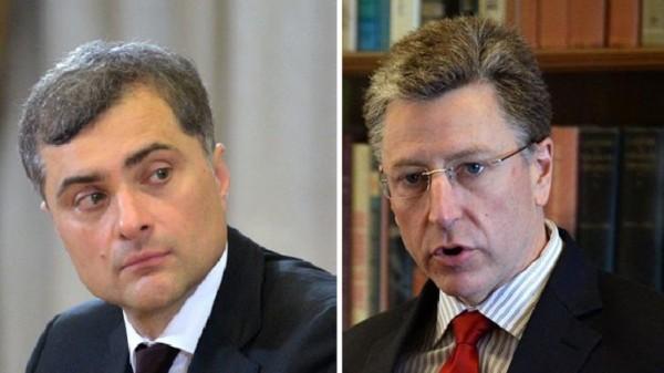 Сурков и Волкер вновь встретились для обсуждения ситуации в Украине