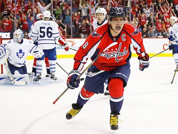 Александр Овечкин повторил рекорд НХЛ 100-летней давности