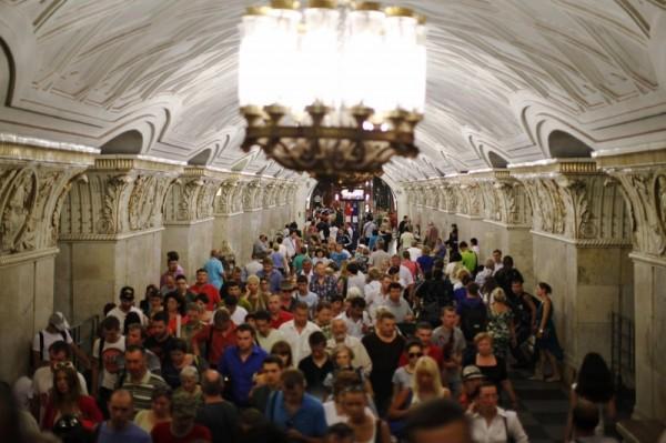 В Москве на «оранжевой» ветке метро произошел сбой
