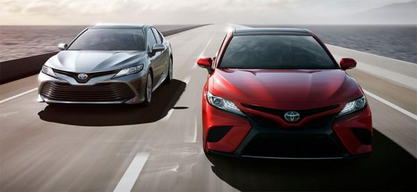 Заксобрание Красноярского края закупит два премиальных Toyota Camry