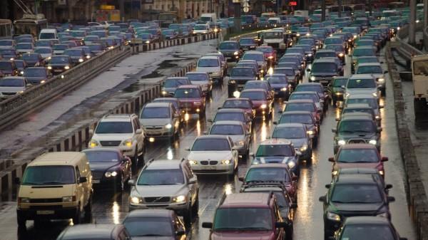 В Санкт-Петербурге зафиксированы 7-балльные пробки