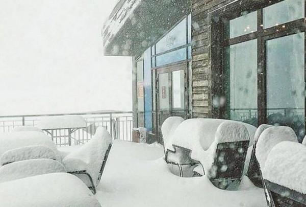 Толщина выпавшего под Сочи снега составила 20 сантиметров