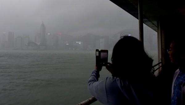 В Китае тайфун «Ханун» стал причиной эвакуации 370 тыс. человек