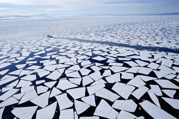 Учёные: Холодное лето в России стало следствием таяния арктических льдов