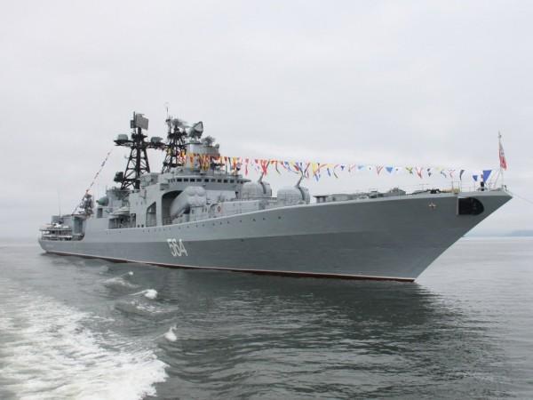 Во Владивосток на маневры прибудут корабли ВМС Индии
