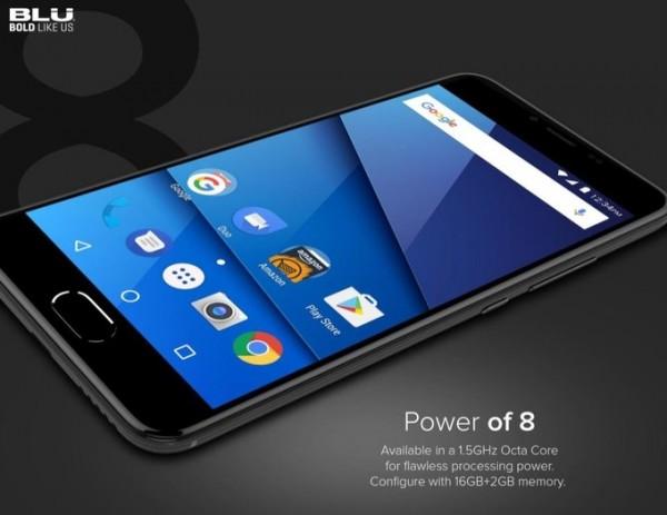 Смартфон  BLU S1 оказался бюджетной версией One Plus 5