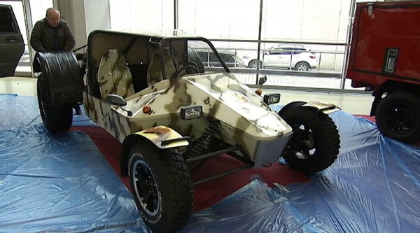 «АвтоВАЗ» представил Багги-болотоход LADA для нужд Росгвардии