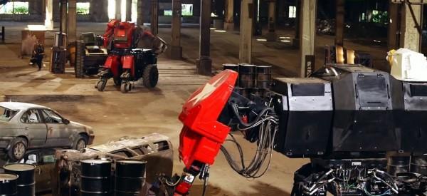 В Японии прошла первая в истории битва гигантских роботов