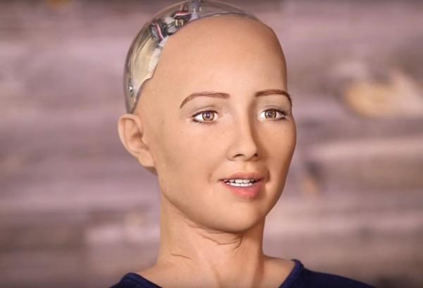 В Москве представили первого в мире человекоподобного работа Софию