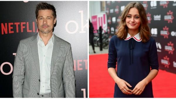 Замена Джоли: Брэд Питт нашел новую девушку на 32 года моложе