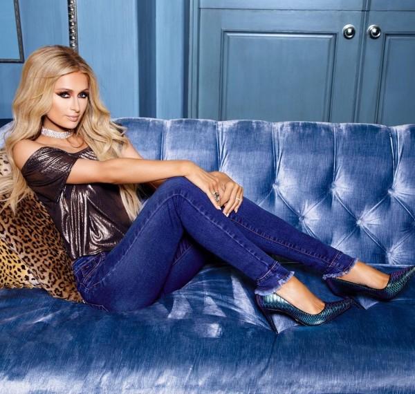 Пэрис Хилтон снялась топлесс ради рекламы джинсов