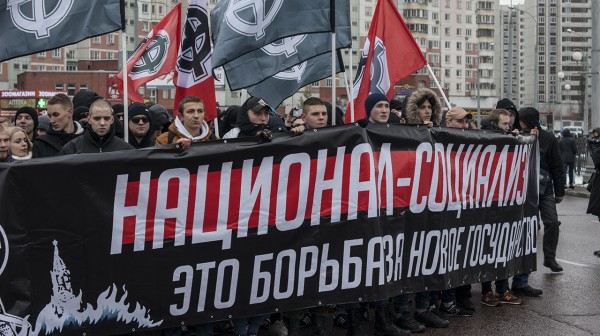 Националисты уведомили мэрию Москвы о проведении «Русского марша - 2017»