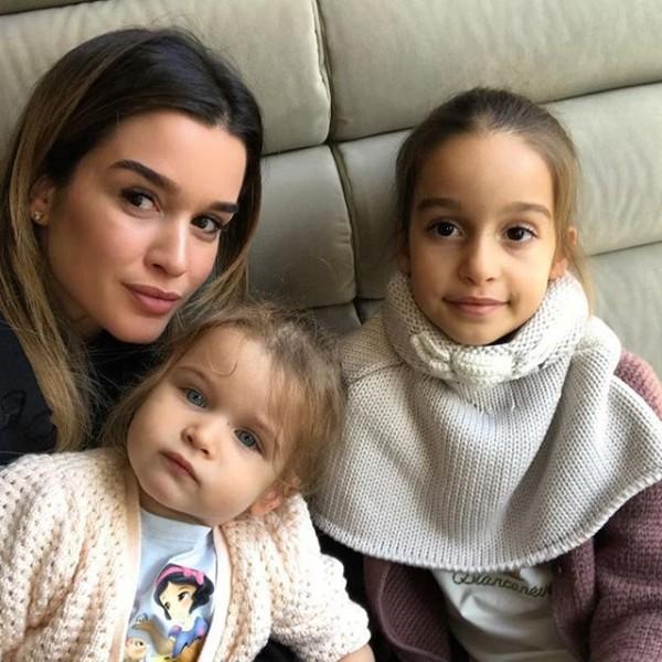 Ксения Бородина переживает за здоровье своей дочери