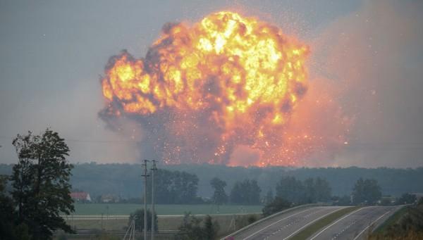 При взрывах под Винницей разлетелись почти 3 тысячи боеприпасов