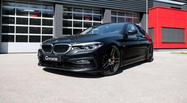 В G-Power поработали над седаном BMW 5 Series