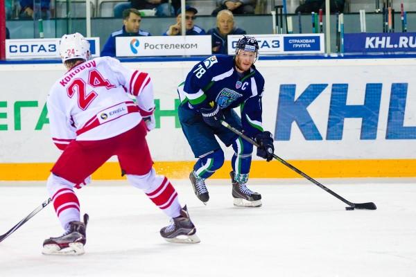 «Спартак» впервые обыграл «Югру» дома на чемпионате КХЛ