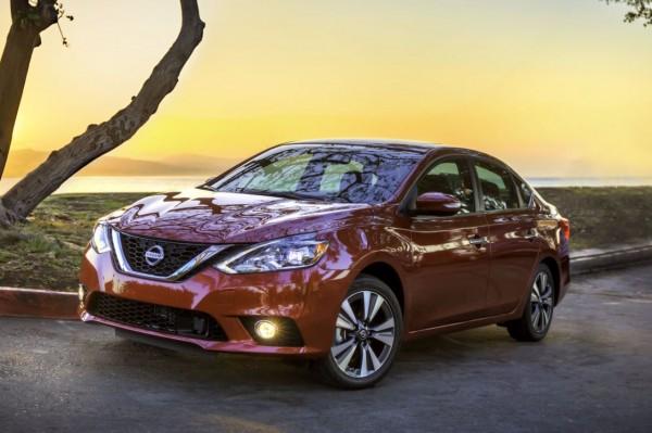 На рынок вышел новый седан Nissan Sentra 2018