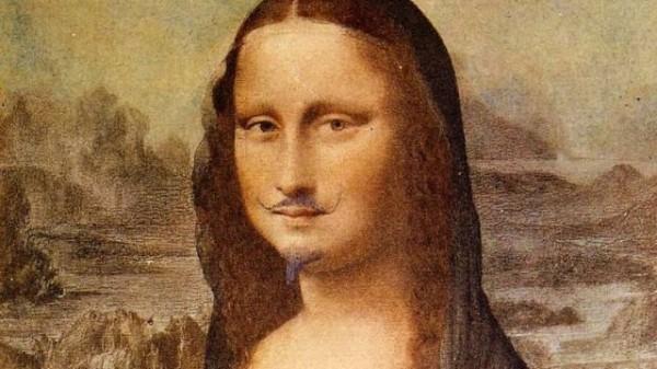 «Мона Лиза» с усами и бородой продана в Париже за 743 тыс. долларов