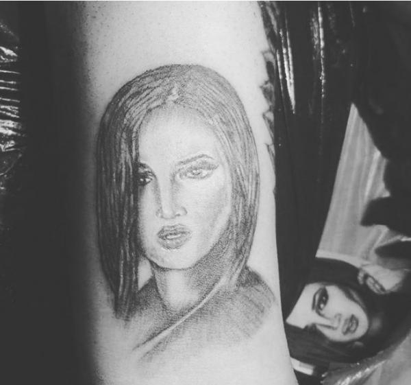 Фанат сделал настоящую татуировку с изображением Ольги Бузовой