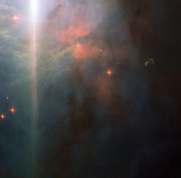Телескоп «Хаббл» снял фантастический закат в созвездии Ориона