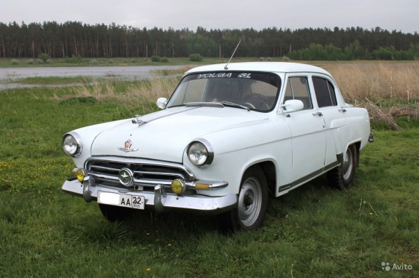 Раритетный ГАЗ-21 «Волга» со звездой продают в Барнауле