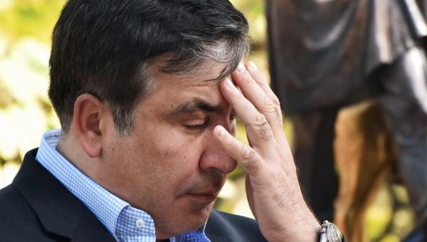 Саакашвили решил поселиться в палаточном городке рядом с Верховной радой